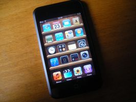 iPod touch by xionz