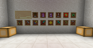 Minecraft redesigned items by Caosespacial257