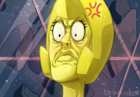 Yellow Diamond The Clod by Lushminda