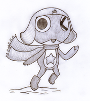 Keroro In The Snow by SalemTheCat23