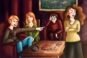 Hermione, you're a girl! by Farbtropfen
