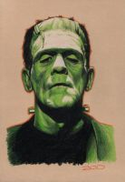Frankenstein's Monster by J-Redd