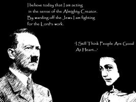Good Anne And Evil Adolf by actually-im-a-raisin