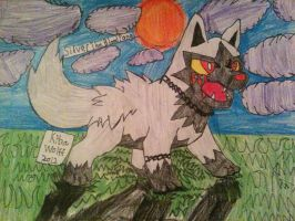 Silver The BloodFang by furguylover
