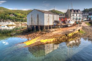 Mallaig Harbour by Silver-Guild