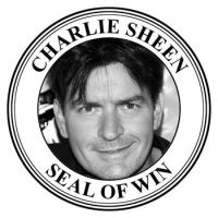Charlie Sheen Seal of Win by iceyninjagurl