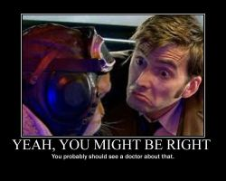 Doctor Who: Yeah, You Might be Right by LittleSansa