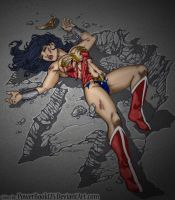 Wonder Woman in De-Feet by powerbook125
