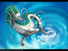 day 11 - Haku + video! by Silverbloodwolf98