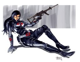 Baroness is back bitches by JocelynAda