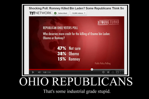 Ohio Republicans Demotivator by Party9999999