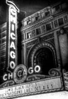 Chicago Theater, Holga by spudart