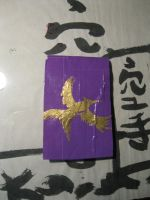 Duct Tape MockingJay I-pod touch case by Brutechieftan