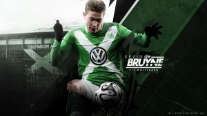 Kevin De Bruyne 2014/15 Wallpaper by AlbertGFX