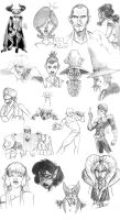 Best of Sketches 1 by aoi-iro