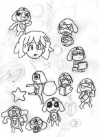 SGT Frog Sketches 2 by Deathirst