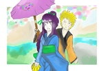 Spring- NaruHina by Artict