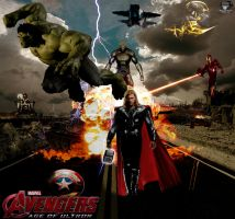 The Avengers Age of Ultron by Guardedspirit