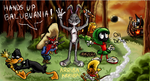 Collab: Those Looney Tunes by CartoonSilverFox