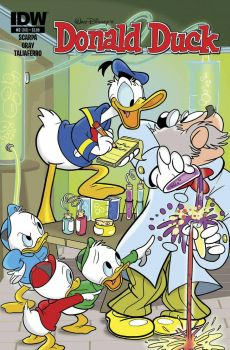 My cover for Donald Duck 2 by DaveAlvarez
