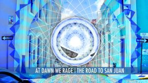 At Dawn We Rage - Road to San Juan Wallpaper by ValencyGraphics