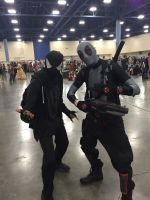 Supercon Cosplay 2015: X-Force Deadpool by shadowdelta47