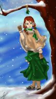 AT with Snowfake: Agnes by Silverarte