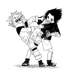 Naruto - scuffle by tinhan