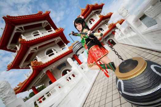 Dynasty Warriors 8 - Guan Yinping by Xeno-Photography