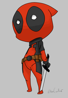 Little Deadpool by BabyKhajiit
