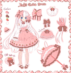 Cake Dress design( EDIT NEW DESIGN!!!!!) by Maruuki