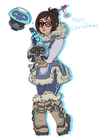 Mei Overwatch by Cillias
