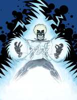 White Lightning Commission by MarkHartman
