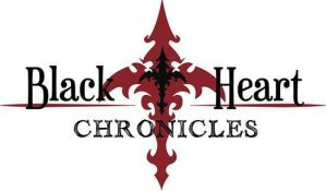 ThE BlAcKhEaRt ChRoNiClEs  cOmIc lOgO WHITE VER. by project-fallen-angel