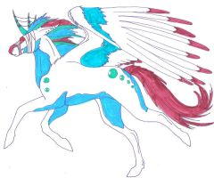 Ziric- Unicorn form by Manar-Darkwing