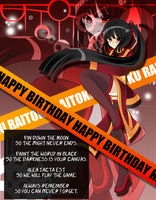 Raitoku Yang - Happy Birthday by In3ity