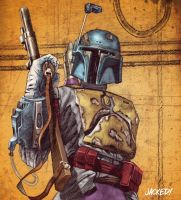 Boba Fett by Jack-C-Gregory