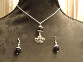 Black Crown by TheLovelyBoutique