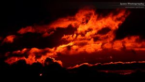 Fire Clouds 2 by Jyzee