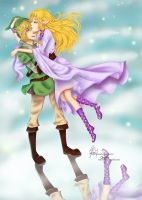 My hero [TLoZ SS] Collab by Ariettys
