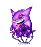 Gengar used Shadow Ball by FakeMakeT