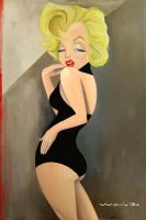 Marylin by waldomatus