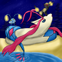 Milotic by HoneyShuckle