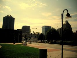 Downtown in The Boro by drrckmtthws