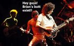 Butt of Brian Harold May by Oceansoul7777