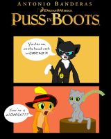 Puss in Boots comic by Rainheart94