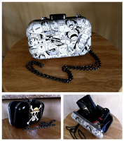 One Piece manga purse by merryalycen