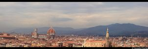 Firenze Panorama by TVD-Photography