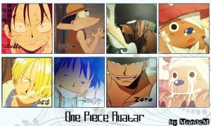 One Piece Avatar Set 1 by MondeM