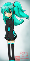 old miku-color by mcdmouse